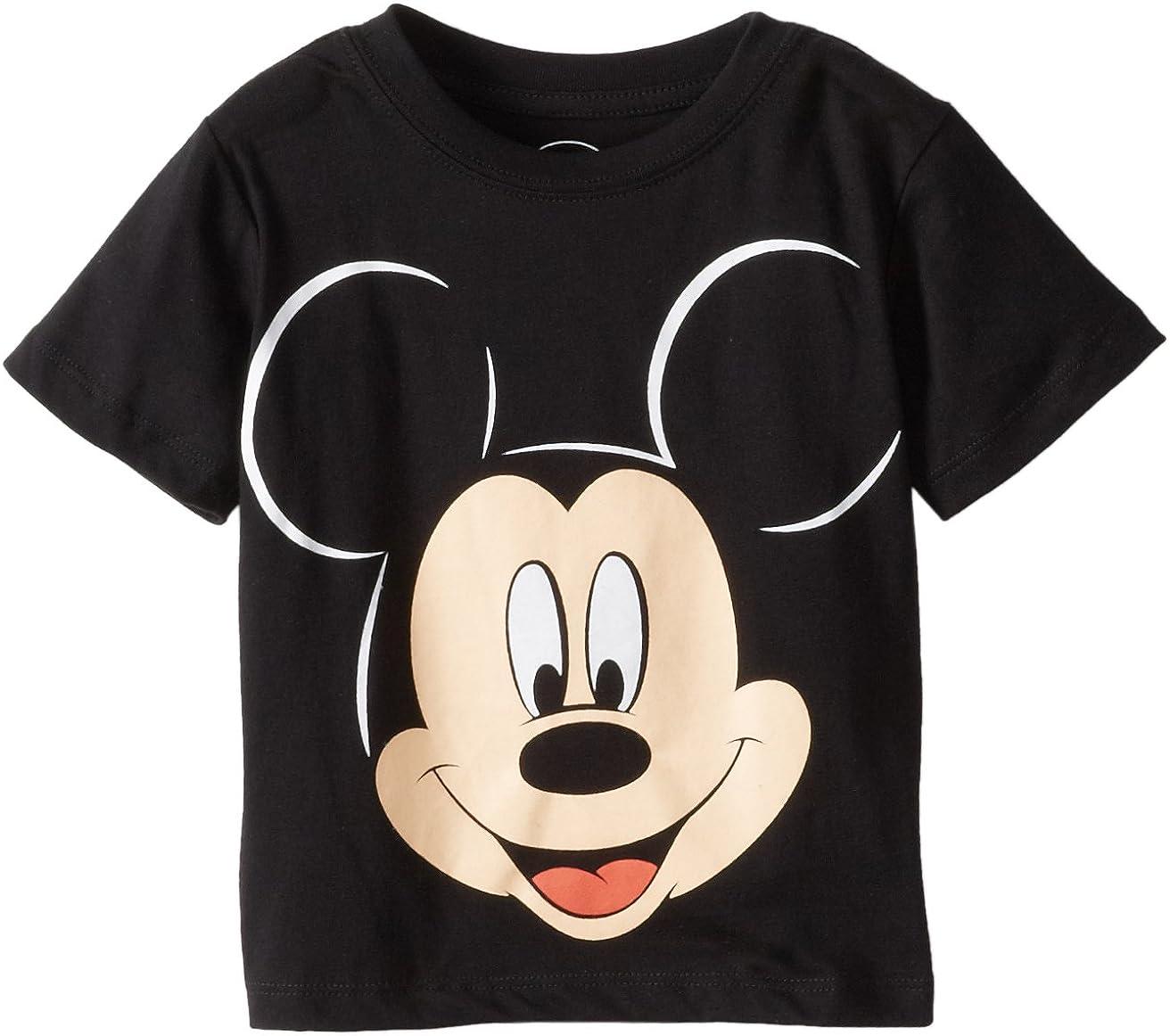 Disney Mickey Mouse Boys' Face T-Shirt