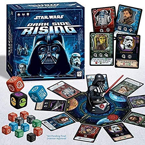 USAopoly USODC129000 Star Wars: Dark Side Rising, Mixed Colours
