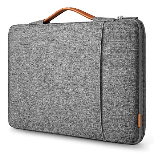 Inateck 13-13.3 Inch Laptop Sleeve Case Compatible with MacBook Air 13 2012-2020, MacBook Air M1, MacBook Pro M1, MacBook Pro 13 2012-2021, Surface Pro X/7/6/5/4/3, MateBook D14 - Grey