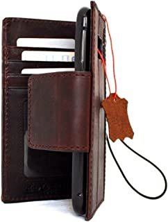 Genuine Vintage oiled Leather Case for Samsung Galaxy S7 active Book Wallet Luxury Cover S Handmade Retro Id s 7 brown magnetic closure DavisCase