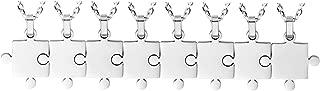 Best 8 piece puzzle necklace Reviews