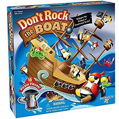 Don't Rock The Boat Skill & Action Balancing Game