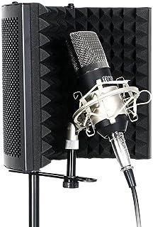 TONOR Microphone Isolation Shield Studio Mic Sound Absorbing Foam Reflector