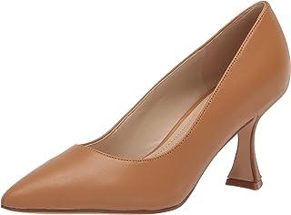 حذاء نسائي من NINE West، جلد أسمر فاتح، 5. 5