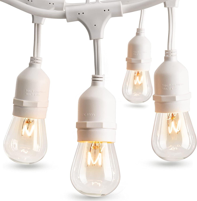 addlon 日本最大級の品揃え 48 SALE FT Outdoor String Weatherproof Commercial Lights Grade