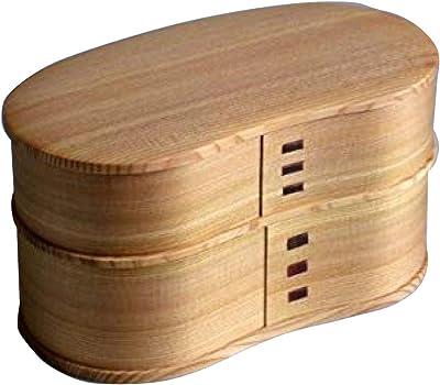 秋田杉 大館曲げわっぱ はんごう弁当箱 日本製 漆器 杉 保湿 天然木製 おかず 国産 天然木 女性 男性