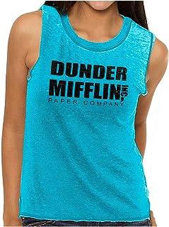 Brisco Brands Dunder Paper Company Mifflin Office TV Show Junior Muscle Tee
