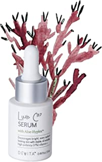 Luxe C17 Vitamin C Serum For Face with AloeHyplex by DeVita - skin brightening anti-aging serum for dark spots, wrinkles, even radiant looking skin; stabilized 17% vitamin c, for sensitive skin -13ml