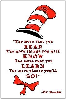 Dr. Seuss Classroom School Reading Education Poster