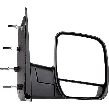 ECCPP Passenger Side Mirrors Right Rear View Mirrors fit 2003-2013 Ford E-150 E-250 2004-2013 Ford E-350 E-450 Super Duty E-450 Econoline Black Manual Folding