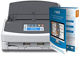 $449 » Fujitsu ScanSnap iX1500 Document Scanner Powered with Neat, 1 Year Neat Premium License
