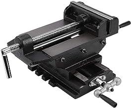 Verstelbaar 6 Inch Cross Slide Drill Press Metaal Frezen Vice Stand Montage spantafel Uitgebreid
