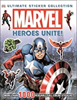 Ultimate Sticker Collection: Marvel: Heroes Unite!: More Than 1,000 Reusable Full-Color Stickers