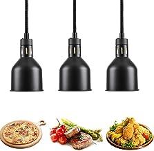 sahadsbv Lampe chauffante pour Aliments, Chauffe-Plats pour buffets de fêtes, Lampes chauffantes Professionnelles avec Amp...