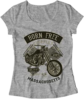 Born Free Choppers T-Shirt - Mujer