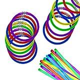 Windy City Novelties Premium 8' Glow Sticks - 300 Pack Assorted Colors