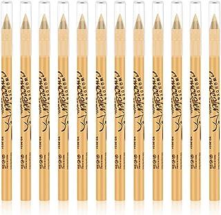Ownest 12 Packs Wonder Concealer Pencil,Highlighter Concealer Stick Set, Makeup Contour Concealer,Waterproof Long Lasting Full Coverage Foundation Concealer for Eye Dark Circles Spot, Scar,Tattoos-B02
