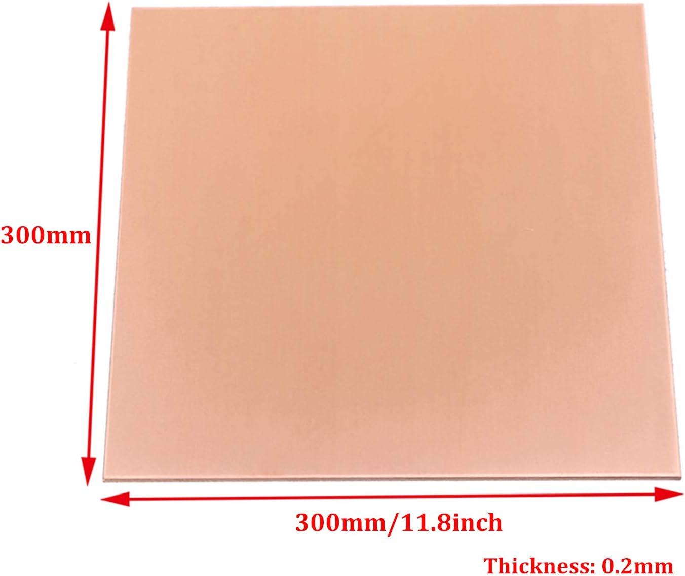 gaixample.org SQINAA 1pc High Purity Copper Sheet 99.9% Pure ...