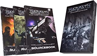 Mantic Games MGWPM101 Warpath Rulebook Collection,