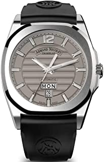 Armand Nicolet Gents-Wristwatch J09-2 Day & Date Analog Automatik A650AAA-GR-GG4710N