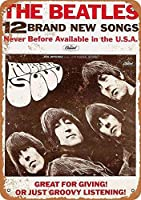 The Beatles Soul カブトムシ メタルサインメタルポスターポストカード注意看板装飾壁掛壁パネルカフェバーレストランシネマボールルームミュージックフェスティバル