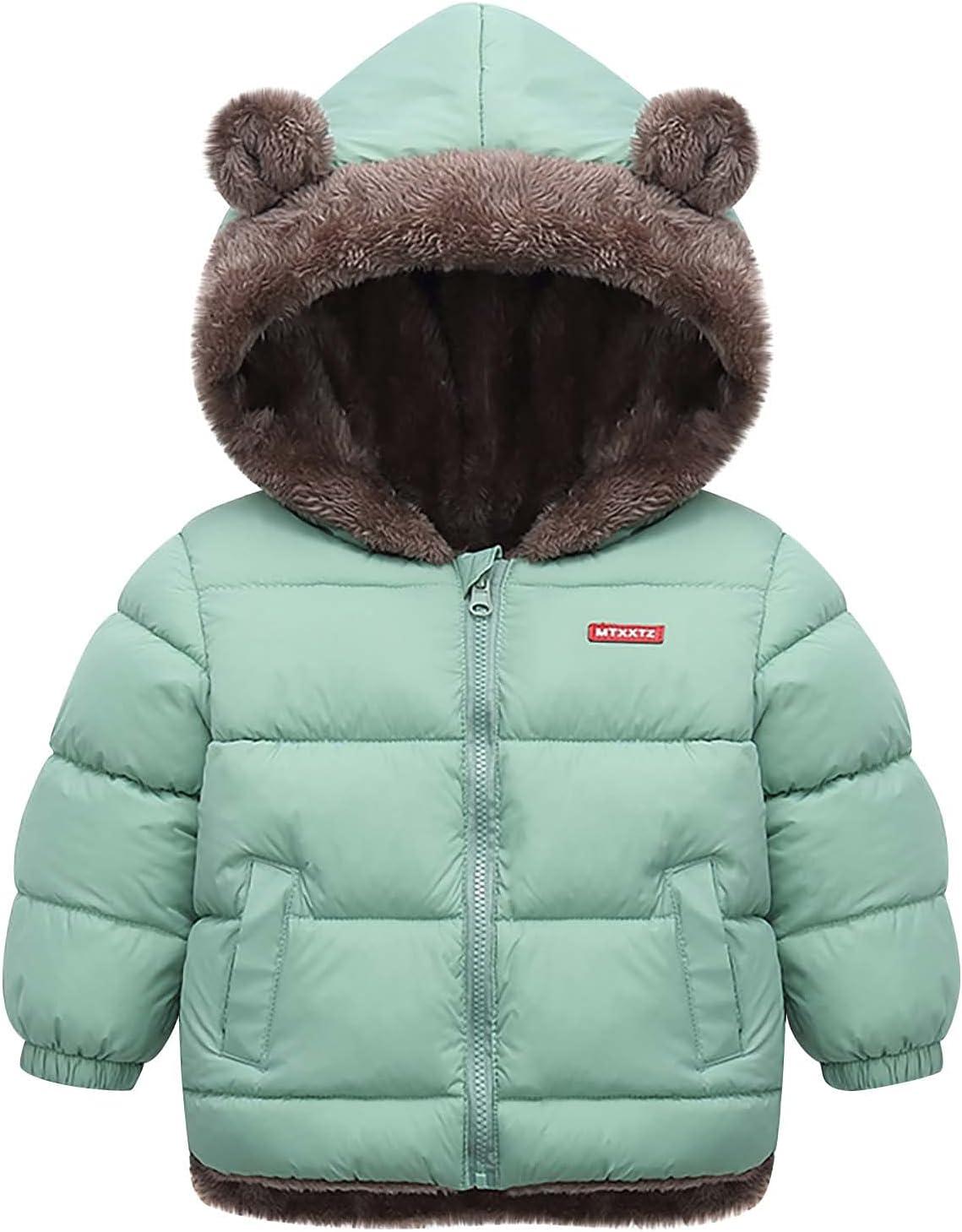 Ranking TOP9 Toddler Kids Winter Coat service Baby Boys Girl Hooded Ear J Bear Padded