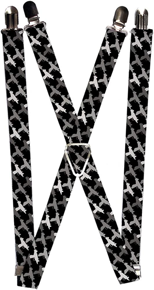 Buckle-Down Unisex-Adult's Suspender-Uzi