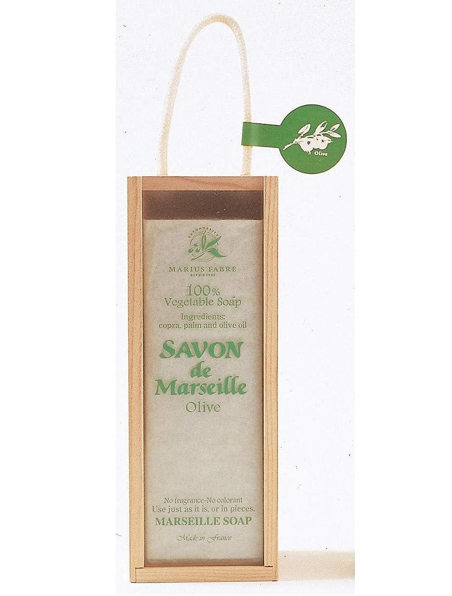 別れる哀乳白色サボン ド マルセイユ 木箱ギフト オリーブ