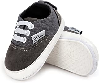 Antheron Baby Girls Boys Canvas Shoes Soft Sole Toddler...