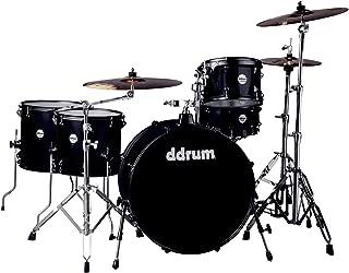 ddrum J2R 524 BSP Piece Drum Set, Black Sparkle