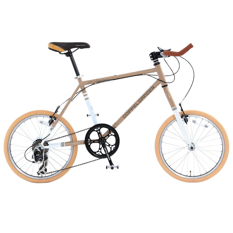 DOPPELGANGER(ドッペルギャンガー) 折りたたみ自転車 BACKFLIPPERシリーズ PARCEIRO 260-GY 20インチ 独自開発折りたたみフレーム採用