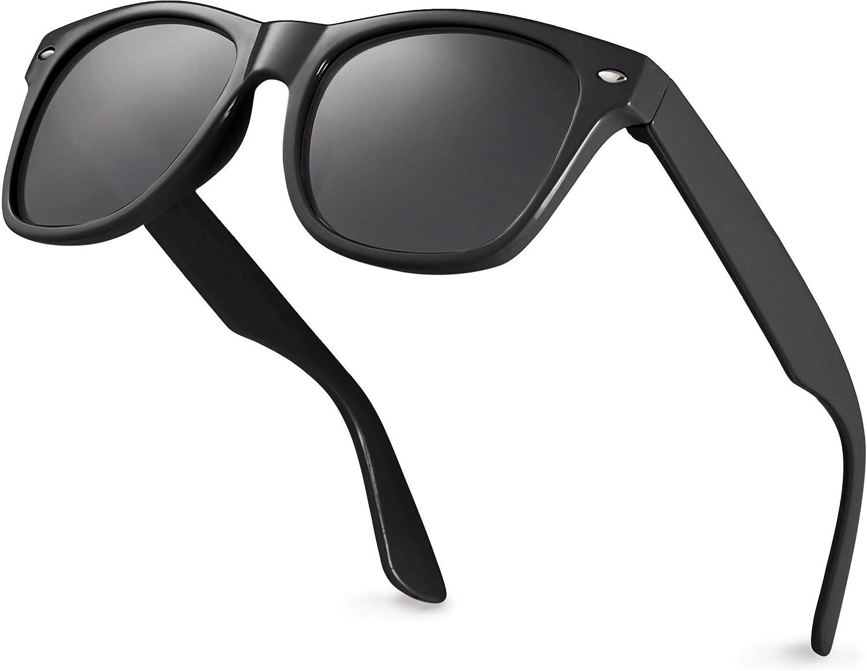 Retro Rewind Iconic Kids Sunglasses for Boys Girls - Shatterproof UV400 Children Sunglasses for Toddlers Kids Age 2-10