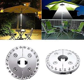 Miaoo 28/LED Schnurlose Sonnenschirm Lichter mit 28/super hellen LEDs f/ür Terrassenschirme Camping-Zelte oder Outdoor-Aktivit/äten Schwarz