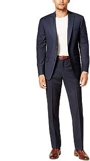 DKNY Men's Slim-Fit Birdseye Suit