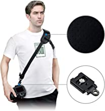 JJC Mirrorless Camera Shoulder Sling Strap with Quick Release and Safety Tether for Sony A7 A7R A7S A9 A6000 A6100 A6300 A6400 A6500 A6600 Fujifilm X-T3 X-T2 X-T1 X-T30 X-T20 X-T10 X-H1 X-PRO2 & More