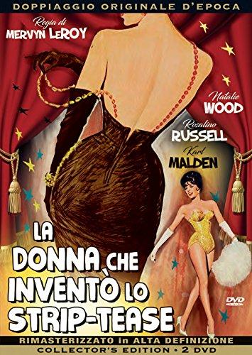 la donna che inventò lo strip-tease registi mervyn leroy genere biografico anno produzione 1962 [Italia] [DVD]