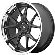ADVENTUS AVS-3 Wheel with BLACK and Chromium (hexavalent compounds) (22 x 10.5 inches /5 x 74 mm, 25 mm Offset)