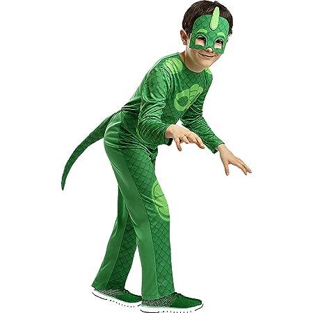 Amscan - Disfraz PJ Mask Gekko Luxe - Talla para 7-8 años ...