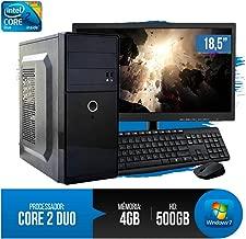 PC Completo Intel Core 2 Duo, 4GB RAM DDR3, HD 500GB,