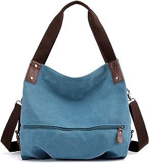 (1000pcs) Women's Bag Canvas Shoulder Bag Convertible Ladies Messenger Bag Messenger Bag Casual Tote Bag Shopping Bag, Use...