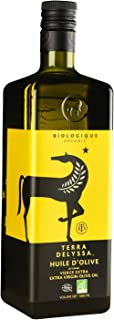 Terra Delyssa First Cold Pressed Organic Extra Virgin Olive Oil, Single Sourced, 34 Oz, Dark Glass Bottle - 1 Pack, Non-GM...