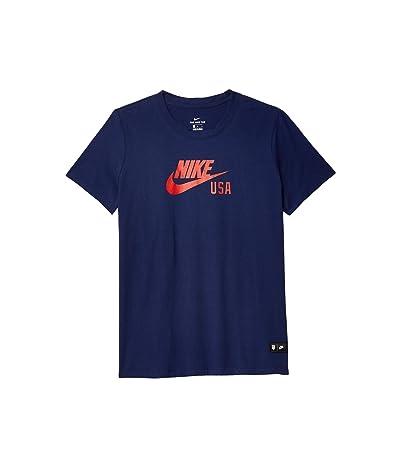 Nike USA Tee Training (Loyal Blue) Women