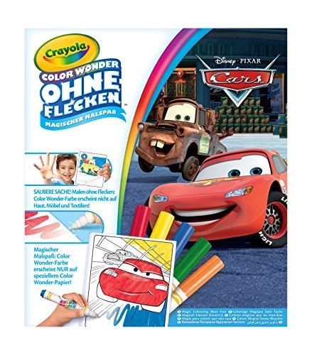 Filzstifteset – Crayola–Kit Color Wonder–Disney Cars (Französische Version)