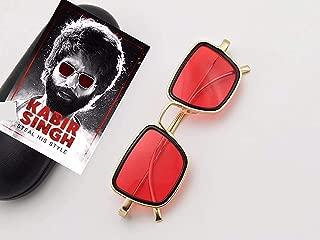 Dervin Square Metal Body Kabir Singh Sunglass for Men & Boy