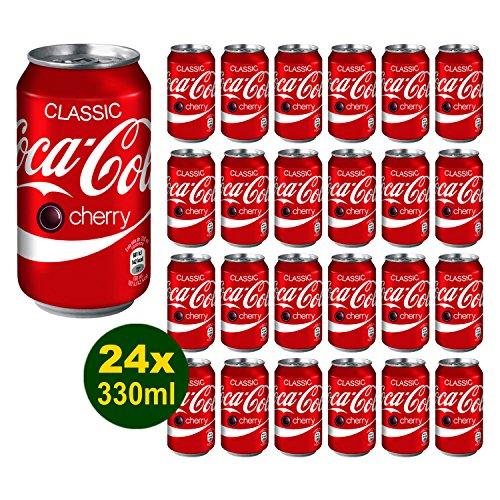 Coca-Cola Cherry 24x 330ml - Coca-Cola mit Kirsch Flavour