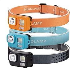 Hoofdlamp hoofdlamp mini-hoofdlamp waterdichte zaklamp koplamp koplamp Torch Lanterna met hoofdband oranje