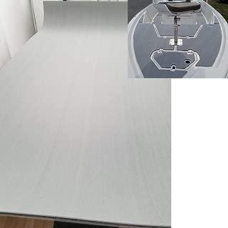 "yuanjiasheng Factory Direct Eva Boat Decking Yacht Synthetic Teak Decking Marine Flooring Water-Proof 94.5""×35.4"" Grey"