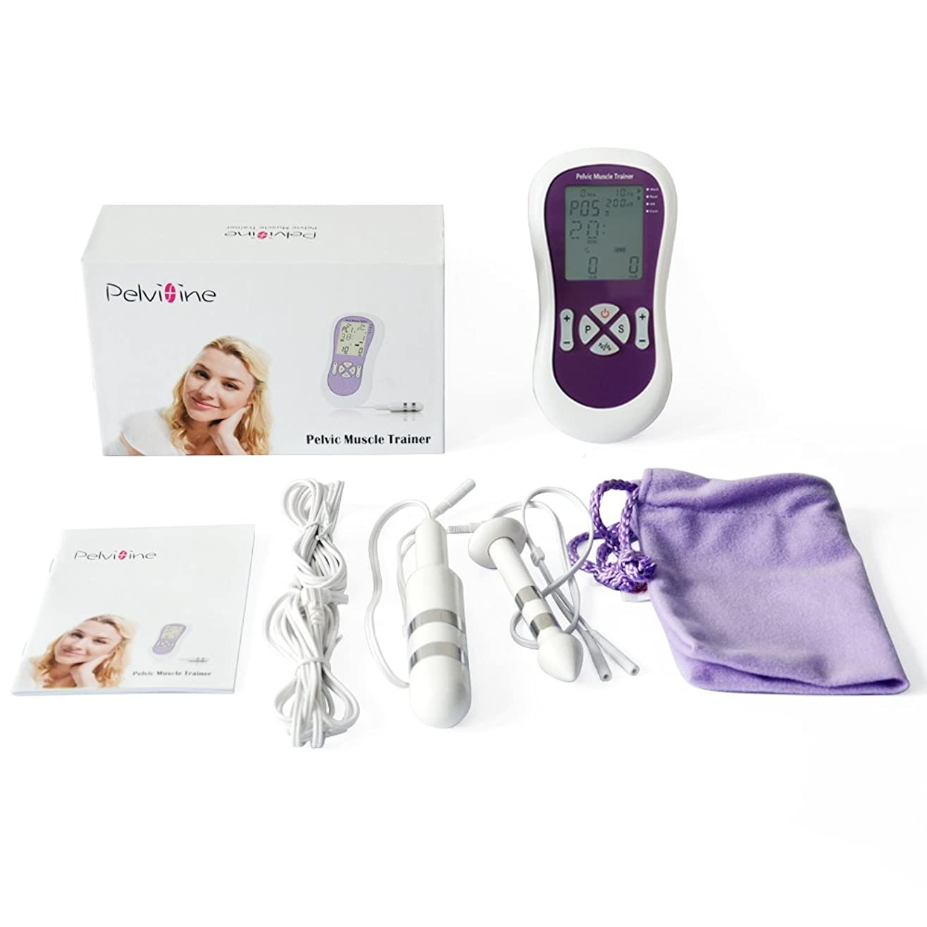 運ぶ測る知覚できるKONMED女性用自動的ケーゲル体操 骨盤底筋トレーニング器具