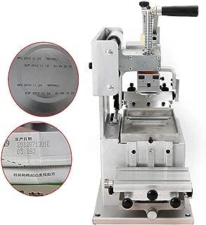 RanBB Manual Pad Printer, Single-Color Pad Printing Machine Pad Label Logo Machine Commercial Printing Equipment for Plate Pad DIY Logo Transfer 80×80mm
