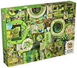 Cobble Hill Green Jigsaw Puzzle (1000 Piece)